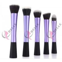 Quality TB-5-06 Synthetic Hair 5pcs makeup brush set 5 colors for sale