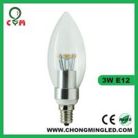Quality Candle Light E12 Dimmable Candle for sale