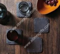 Quality Square slate coaster for sale