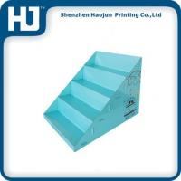 Economical Cardboard Counter Display Boxes With Ladder Shape Cells For Gifts