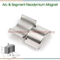 Quality Segment NdFeB Permanent Magnet for sale