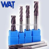 Quality TiAlN Tungsten Carbide Milling Cutters for sale