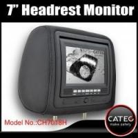 7 inch car headrest TV monitors / car backseat monitors for back seat entertainment system CH7018H