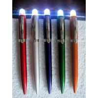 ballpoint pen with a LED light