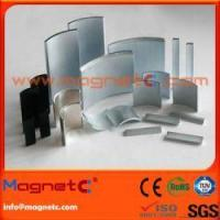 Quality Customized Sizes Arc NdFeB Magnet for sale