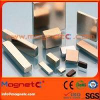 Quality Rectangle NdFeB Magnet Ni Expoy for sale