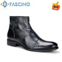 China hot selling man boot soft natural leather oxford man boot on sale