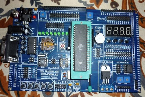 Buy ATMEL 8051 Microntroller Trainer Board at wholesale prices