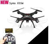 Quality Details about Black Syma X5SW Explorers-II FPV 2.4Ghz 50M RC Drone Quadcopter 2MP Wifi Camera for sale