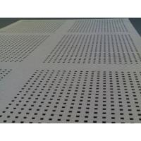 Quality Rectangular hole metal perforated plate for sale