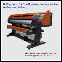 Quality MAX-printer: 1.6m printing+cutting machine for sale