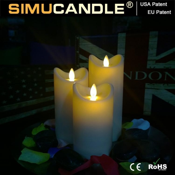 Buy 3.5 Inches Resin Candle Resin Candle Set at wholesale prices