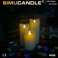 Quality 3.5 Inches Resin Candle Resin Candle Set1 for sale