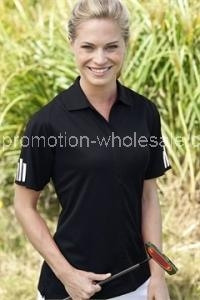 Buy Women's ClimaLite3-Stripes Cuff Polo at wholesale prices