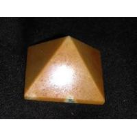 Buy cheap 40 mm Golden Agate Pyramid from wholesalers