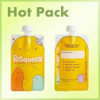 Quality Baby food squeeze pouches for fruit puree packaging for sale