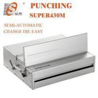 Buy cheap semiautomatic paper punching machine A3 SIZE (SUPER430M) from wholesalers