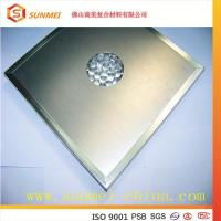China Stainless Steel Wall Panel/ Aluminum Honeycomb Panel on sale