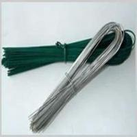 Quality Zinc Coated Electro-Galvanized Iron Wire SAE1006 / SAE1008 U Type Wire for sale