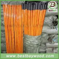 PVC Coated Wood Broom Sticks PVC Cover Wooden Mop Stick