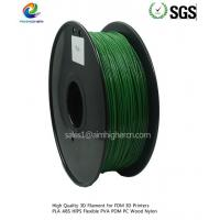 Quality PLA filament Dark Green color 1.75/3.0mm for sale
