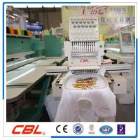 Quality Model:CBL single head 12 needles cap embroidery machine for sale