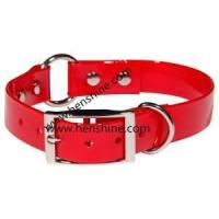 Buy cheap Hunting dog collar Waterproof Fluo Red Center Ring TPU Pet Dog Collar from wholesalers