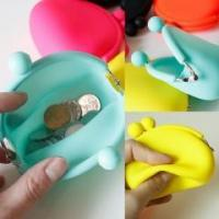 Quality wallet&bag BPA Free Silicone coin purse for sale