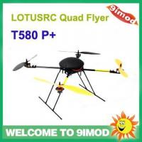 Quality quadcopter LOTUSRC T580 P+ latest aircraft 6ch RC flyer KIT for sale
