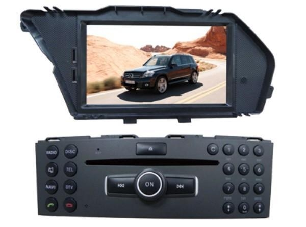 China Car DVR for Benz Car DVD Player For GLK300 With Multimedia GPS