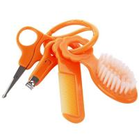 Quality Baby Care Set with Comb/Brush/Nail Clipper/Safety Scissor A-1079 for sale