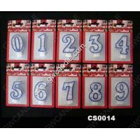 China number candle numeral candle on sale
