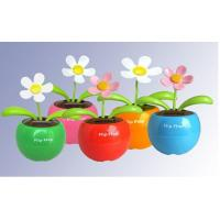 China solar toys flip flap solar flower on sale