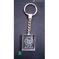 Quality Overseas Channel-Keychains 3D Laser Crystal for sale