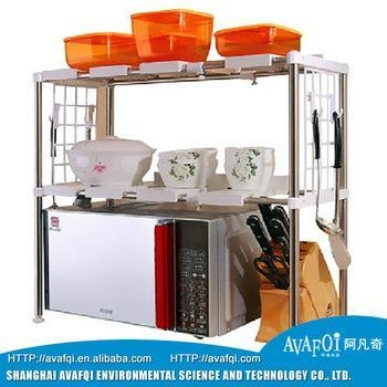 Buy Kitchen Organizers for family kitchen plastic storage rack at wholesale prices