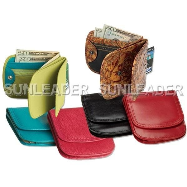 China leather accessaries 106402-Superslim leather taxi wallet