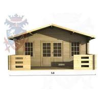 Quality Log Cabins Gatwick 2087 for sale