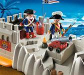 TOY: PLAYMOBIL SOLDIERS BASTION