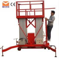 Quality Double mast aluminum alloy lift for sale for sale