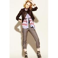 Quality Knitting wears Leather jacket for sale