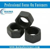 Quality Other Black zinc plated hex nut for sale