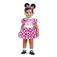 China Girls Costumes Disneys Infant Pink Minnie Mouse Costume on sale