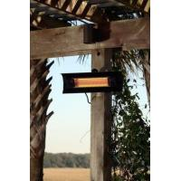 China Fire Sense Well Traveled Living Black Steel Wall Mounted Infrared Patio Heater - 60460 on sale
