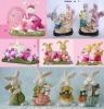 China Polyresin Easter Gifts, Resin Rabbit (WK019)