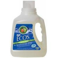 Quality Earth Friendly Products Ecos 2x Liquid Laundry Detergent, Lemongrass, 100-Ounce Bottle (Pack of 4) for sale