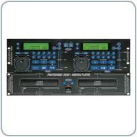 China DJ Mixers & DJ Equipment Voco Pro CDG9000 Twin CD Rack-Mount Karaoke Player on sale