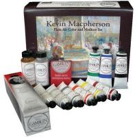 China Kevin Macpherson Plein Air Artist's Oil Color & Mediums Set[GB147913]Manufacturer: Gamblin on sale