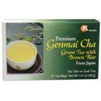 Buy Kenshin 50222 Genmai Cha Tea from Japan 20 Bags Per Box - Case of 24 at wholesale prices