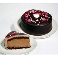 Quality Cakes & Cheesecakes Heart Chocolate Mousse Supreme for sale