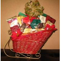 Buy cheap Sleigh Ride Gift Basket from wholesalers